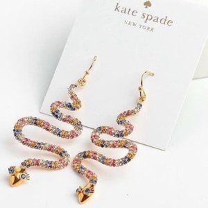 Kate Spade Spice Things Up Snake Earrings